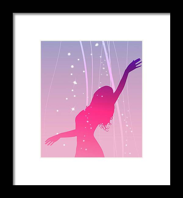 Working Framed Print featuring the digital art Moulding Art by Best View Stock