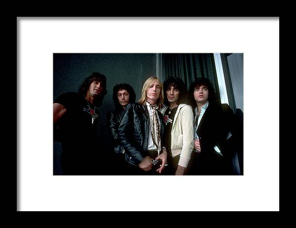 Music Framed Print featuring the photograph Photo Of Tom Petty & The Heartbreakers by Michael Ochs Archives