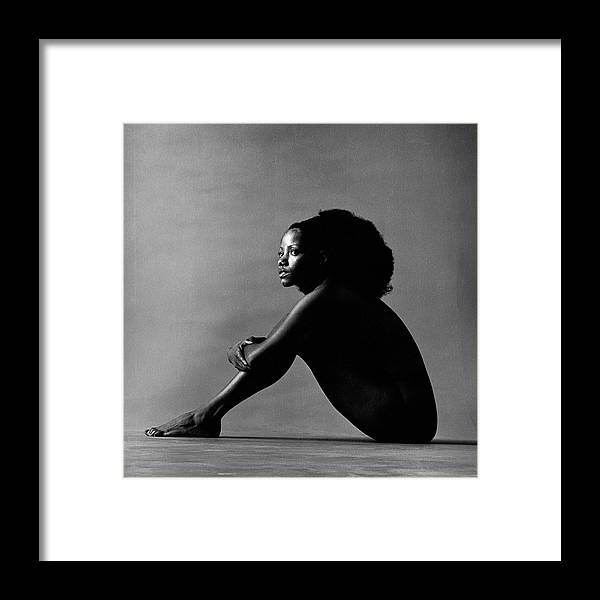 057b71b748d People Framed Print featuring the photograph Portrait Of Melba Moore by Jack  Robinson