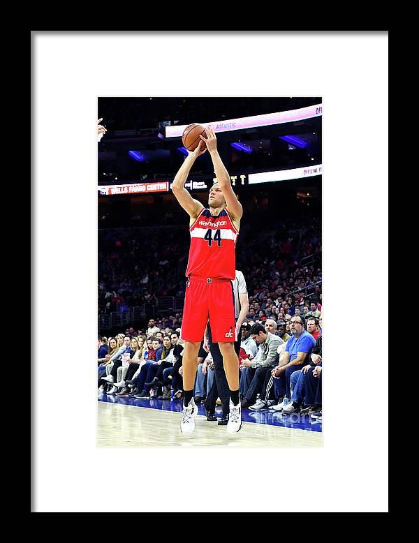 Nba Pro Basketball Framed Print featuring the photograph Washington Wizards V Philadelphia 76ers by Jesse D. Garrabrant