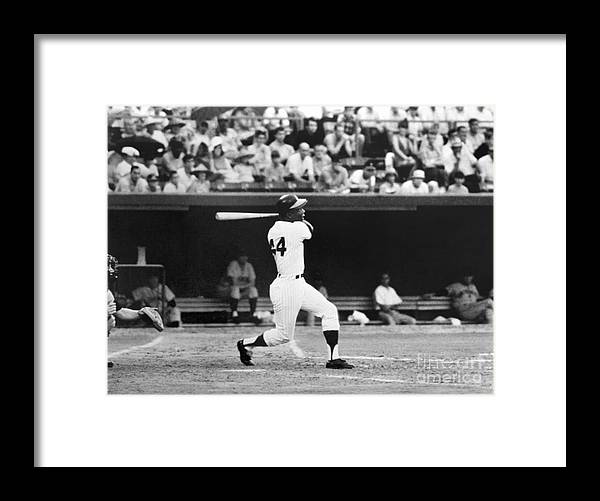 Sports Bat Framed Print featuring the photograph National Baseball Hall Of Fame Library 43 by National Baseball Hall Of Fame Library