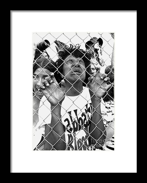 Heavy Metal Framed Print featuring the photograph Mark Sullivan 70s Rock Archive by Mark Sullivan