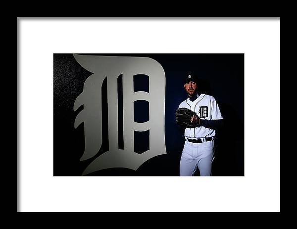 Media Day Framed Print featuring the photograph Detroit Tigers Photo Day 5 by Kevin C. Cox