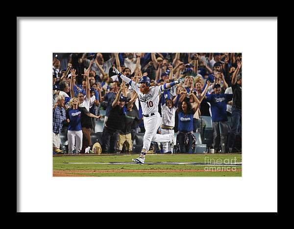 Game Two Framed Print featuring the photograph League Championship Series - Chicago 5 by Kevork Djansezian