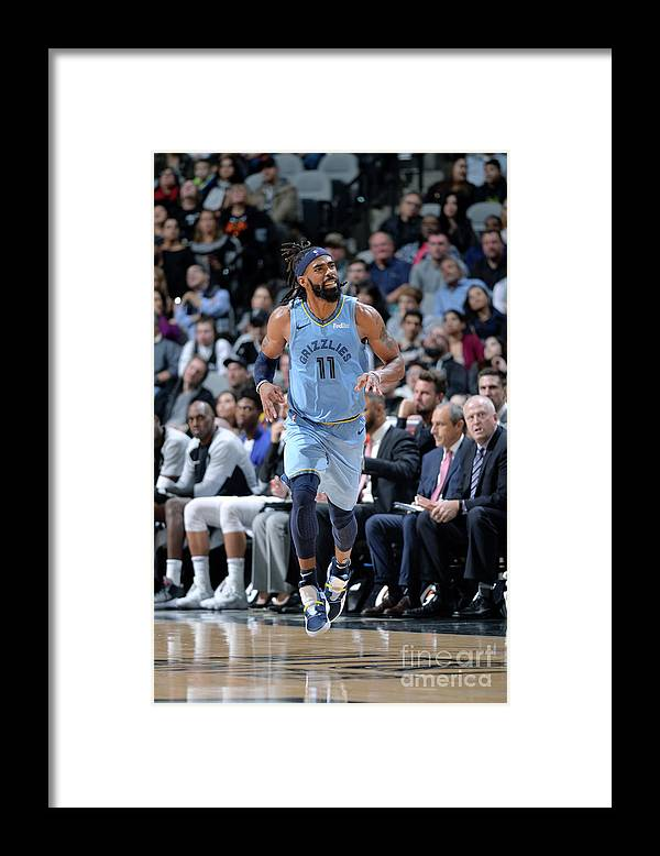 Nba Pro Basketball Framed Print featuring the photograph Memphis Grizzlies V San Antonio Spurs by Mark Sobhani