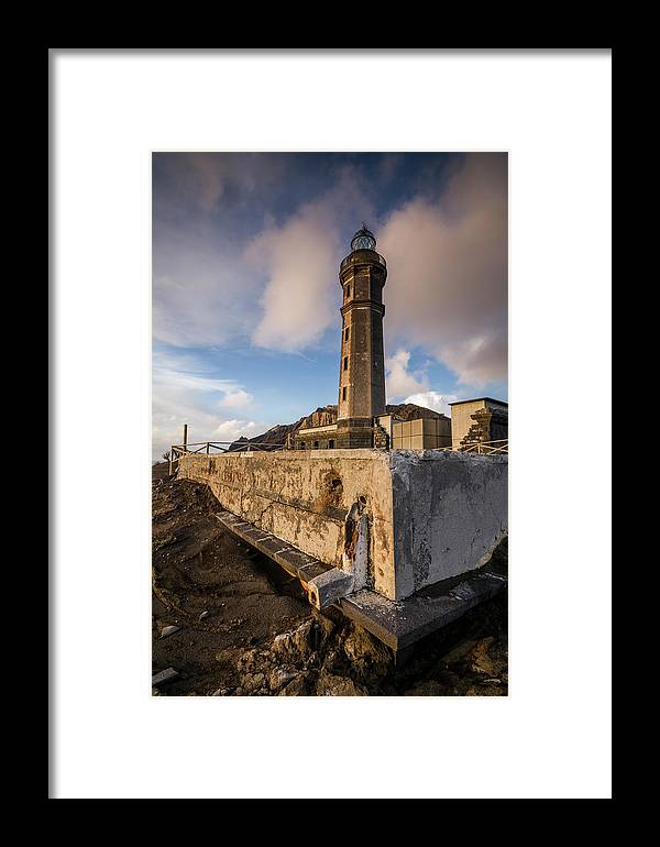 Azores Framed Print featuring the photograph Portugal, Azores, Faial Island by Walter Bibikow