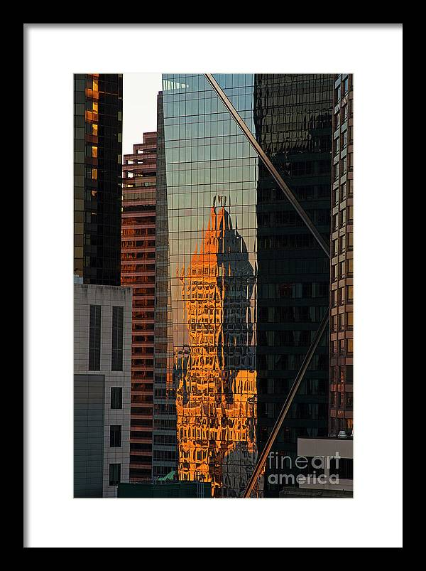 Seattle Building Abstract by Jim Corwin