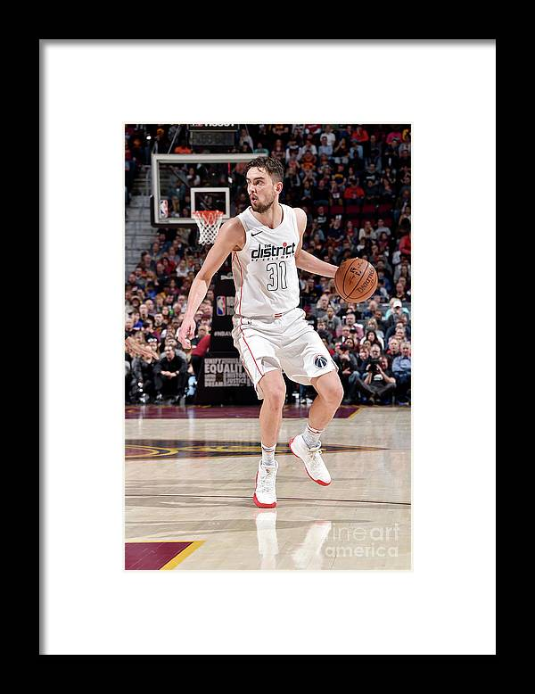 Nba Pro Basketball Framed Print featuring the photograph Washington Wizards V Cleveland Cavaliers by David Liam Kyle
