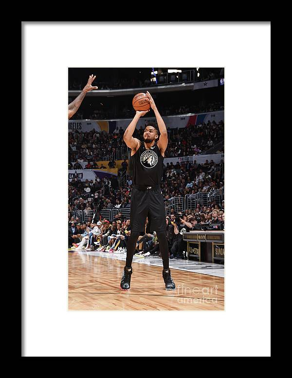 Nba Pro Basketball Framed Print featuring the photograph 2018 Nba All-star Game by Andrew D. Bernstein
