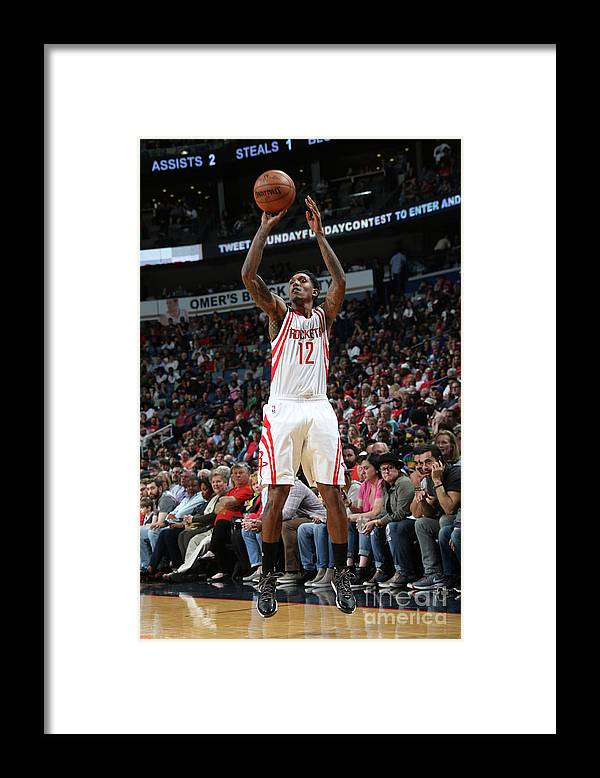 Smoothie King Center Framed Print featuring the photograph Houston Rockets V New Orleans Pelicans by Layne Murdoch