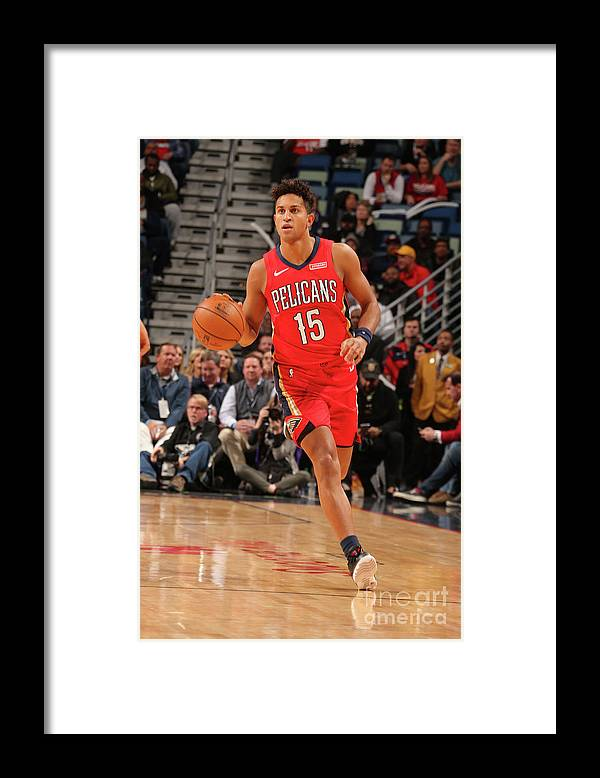 Smoothie King Center Framed Print featuring the photograph La Clippers V New Orleans Pelicans by Layne Murdoch Jr.