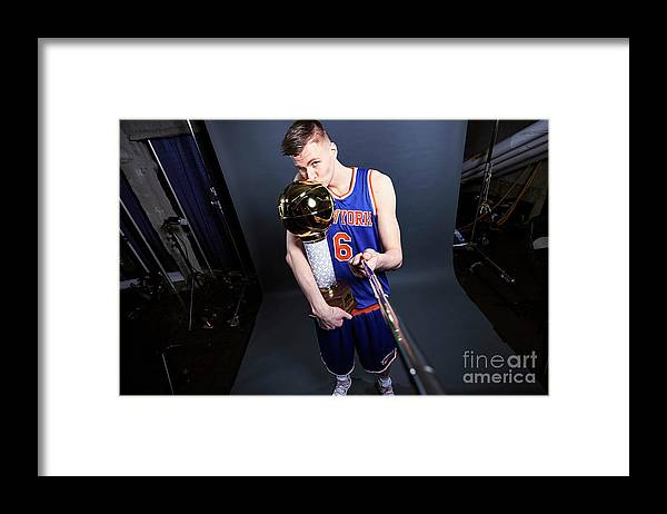 Event Framed Print featuring the photograph Nba All-star Portraits 2017 by Jennifer Pottheiser