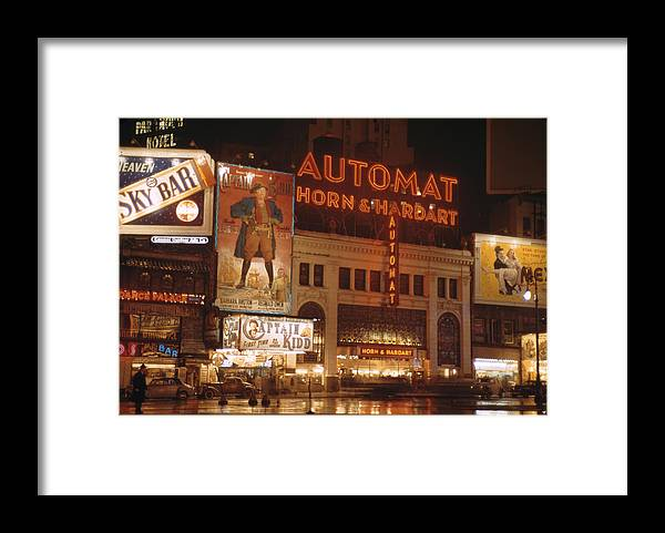Timeincown Framed Print featuring the photograph New York by Andreas Feininger