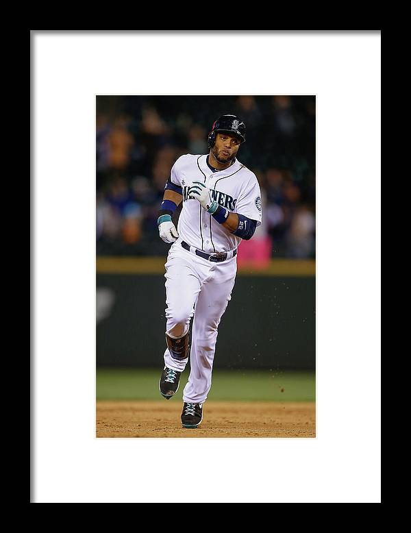 Ninth Inning Framed Print featuring the photograph New York Yankees V Seattle Mariners by Otto Greule Jr