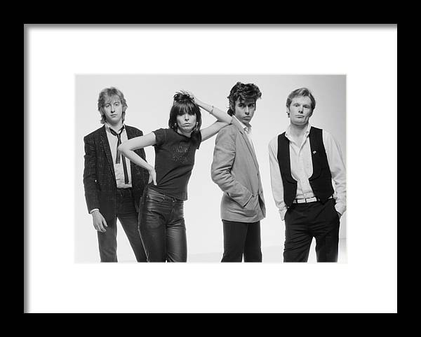 People Framed Print featuring the photograph The Pretenders by Fin Costello