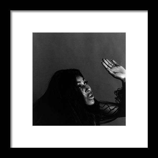 Rock Music Framed Print featuring the photograph Tina Turner by Jack Robinson