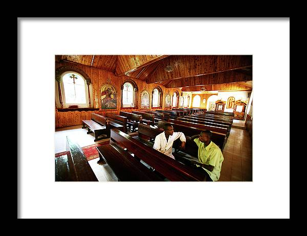 Event Framed Print featuring the photograph Women Empowerment In An Aids Ridden by Brent Stirton