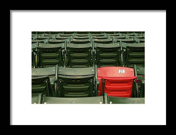 Playoffs Framed Print featuring the photograph World Series - St Louis Cardinals V by Elsa
