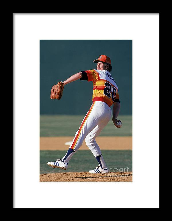 1980-1989 Framed Print featuring the photograph Mlb Photos Archive 67 by Rich Pilling