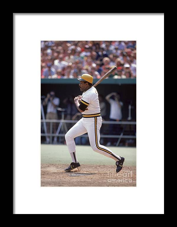 1980-1989 Framed Print featuring the photograph Mlb Photos Archive 69 by Rich Pilling