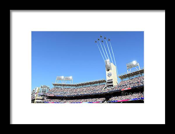 American League Baseball Framed Print featuring the photograph 87th Mlb All-star Game by Harry How