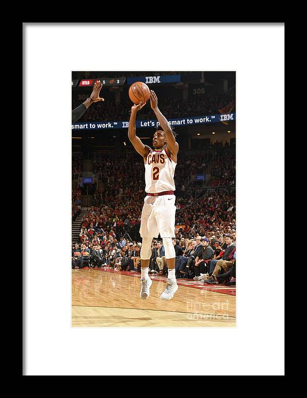 Nba Pro Basketball Framed Print featuring the photograph Cleveland Cavaliers V Toronto Raptors by Ron Turenne