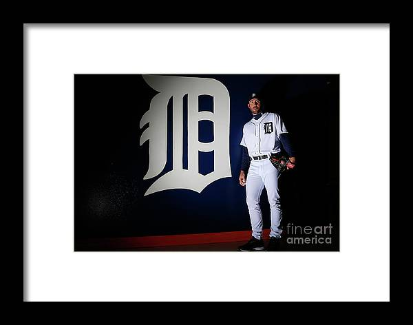 Media Day Framed Print featuring the photograph Detroit Tigers Photo Day 7 by Kevin C. Cox