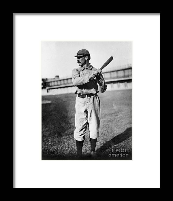 Sports Bat Framed Print featuring the photograph National Baseball Hall Of Fame Library by National Baseball Hall Of Fame Library