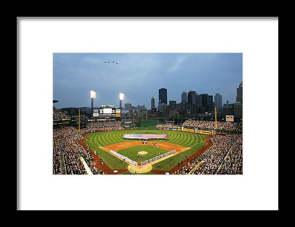 People Framed Print featuring the photograph 77th Mlb All-star Game by Jamie Squire