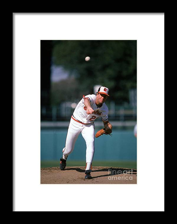 American League Baseball Framed Print featuring the photograph Mlb Photos Archive 78 by Rich Pilling