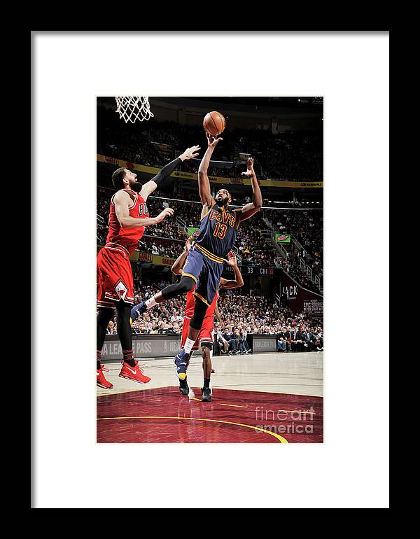 Nba Pro Basketball Framed Print featuring the photograph Chicago Bulls V Cleveland Cavaliers 8 by David Liam Kyle