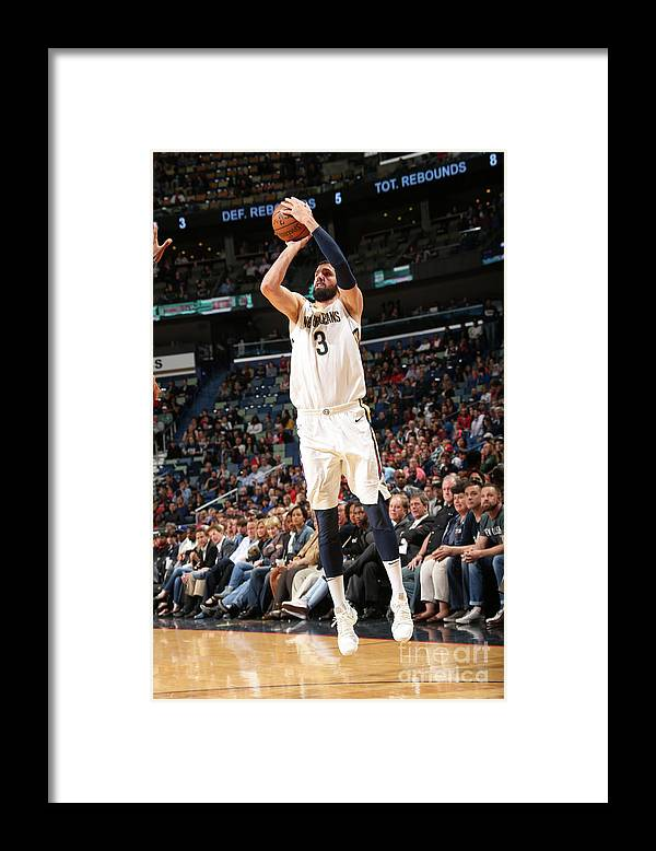 Smoothie King Center Framed Print featuring the photograph Dallas Mavericks V New Orleans Pelicans by Layne Murdoch