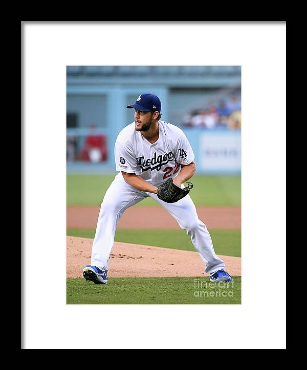 People Framed Print featuring the photograph St Louis Cardinals V Los Angeles 8 by Harry How