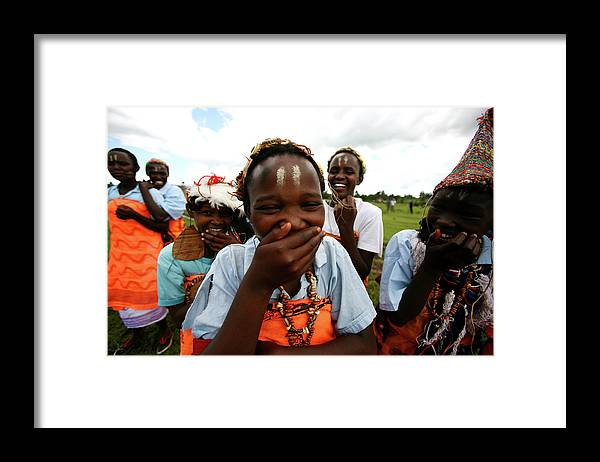 Assistance Framed Print featuring the photograph Women Empowerment In An Aids Ridden by Brent Stirton