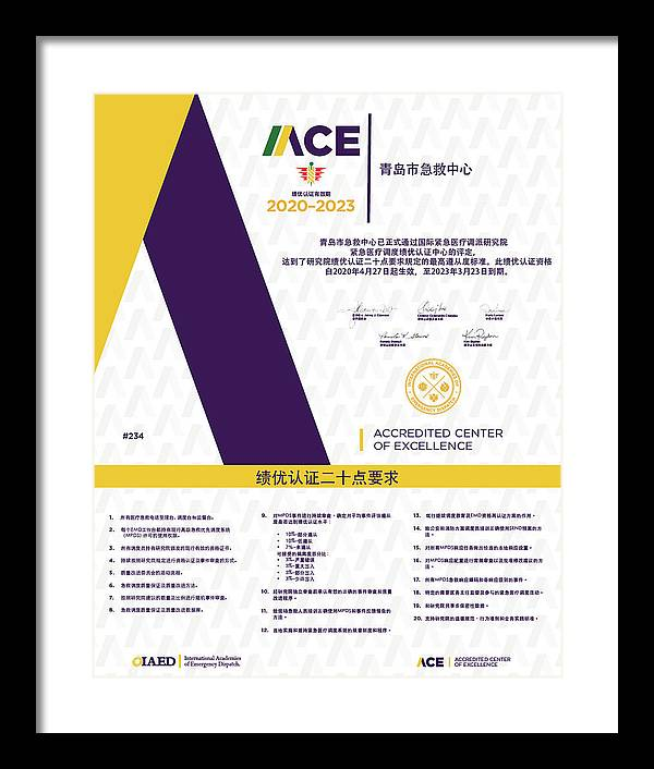 New Upload by IAED ACE Plaques