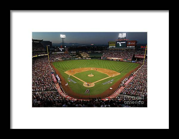 Atmosphere Framed Print featuring the photograph 81st Mlb All-star Game by Michael Buckner