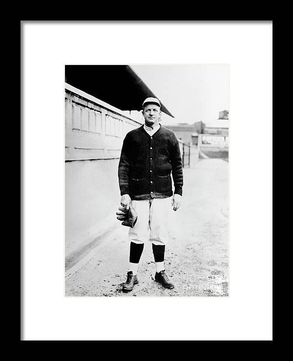 National League Baseball Framed Print featuring the photograph National Baseball Hall Of Fame Library by National Baseball Hall Of Fame Library
