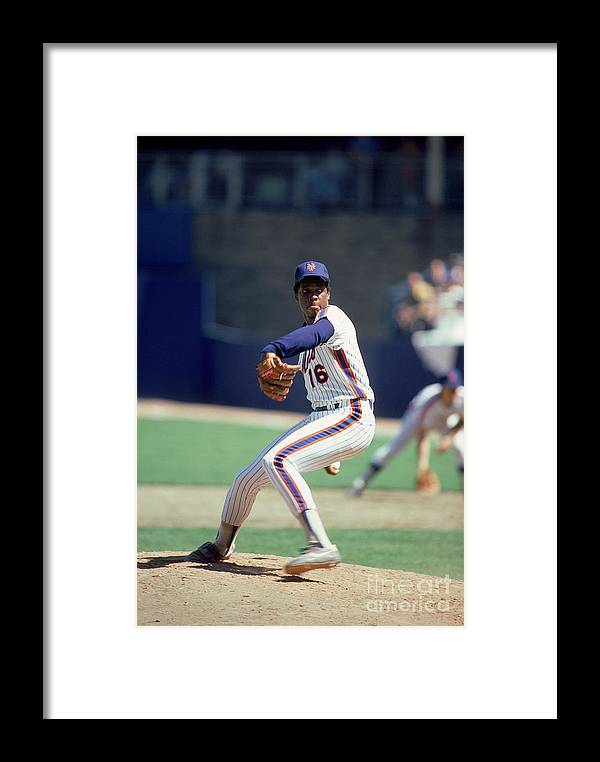 Dwight Gooden Framed Print featuring the photograph Mlb Photos Archive 86 by Rich Pilling