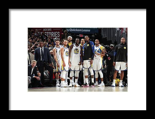 Playoffs Framed Print featuring the photograph 2018 Nba Finals - Game Four by Nathaniel S. Butler