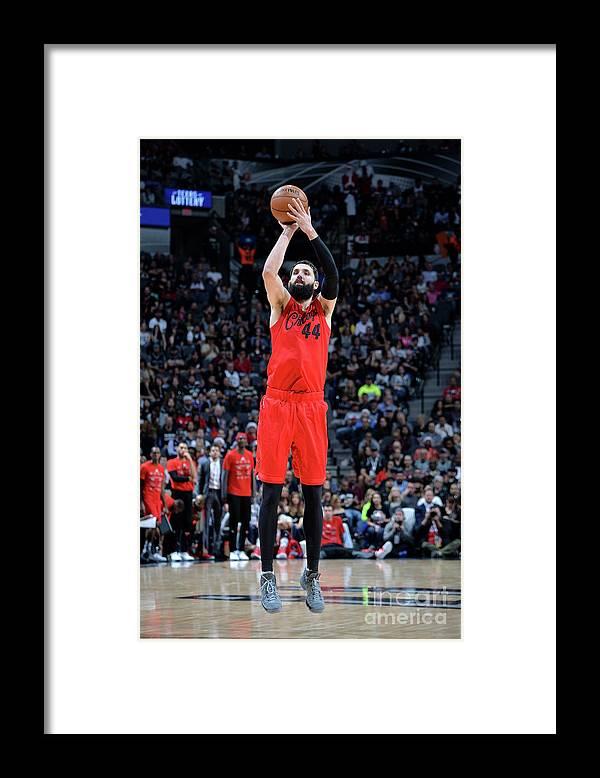 Nba Pro Basketball Framed Print featuring the photograph Chicago Bulls V San Antonio Spurs by Mark Sobhani