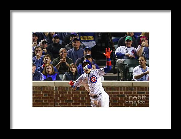 Three Quarter Length Framed Print featuring the photograph League Championship Series - Los by Stacy Revere