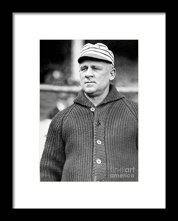 Sweater Framed Print featuring the photograph National Baseball Hall Of Fame Library by National Baseball Hall Of Fame Library