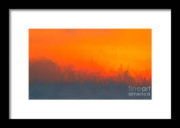 Abstract Framed Print featuring the digital art A Moment Gone by Eddy Mann