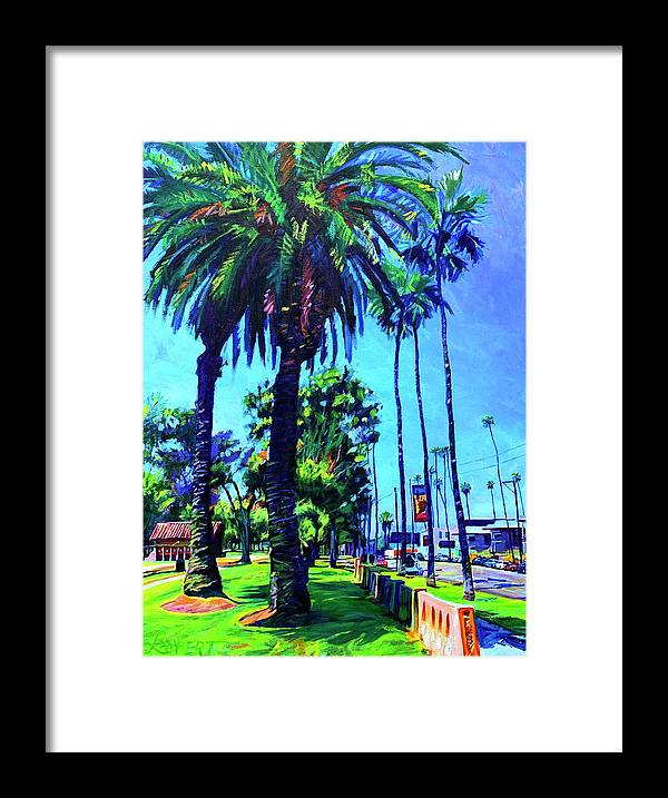 Southwest Framed Print featuring the painting A Place of Calm by Bonnie Lambert