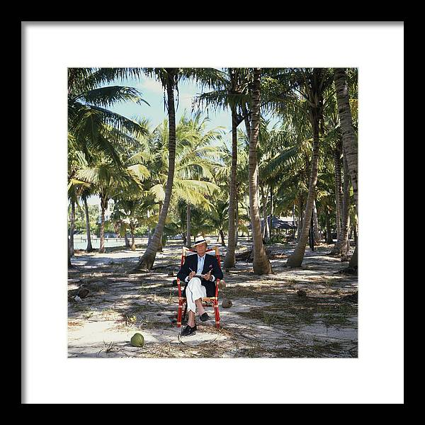 Working Framed Print featuring the photograph Abaco Islander by Slim Aarons