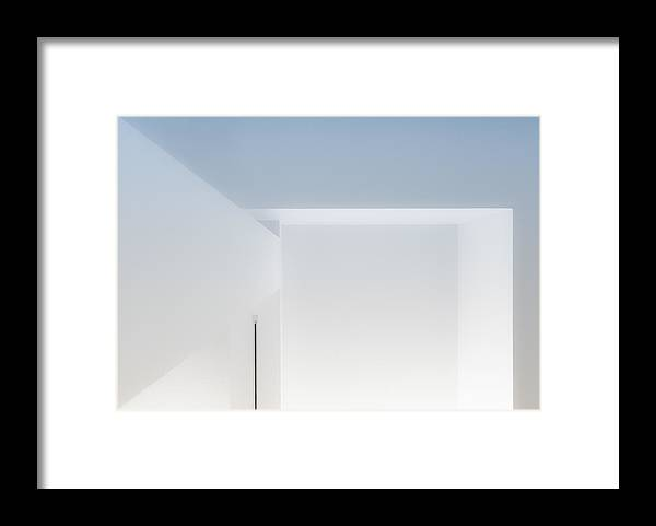 Abstract Framed Print featuring the photograph Abstract Interior by Greetje Van Son