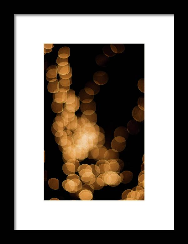 Funky Framed Print featuring the photograph Abstract Lights by Miss pj