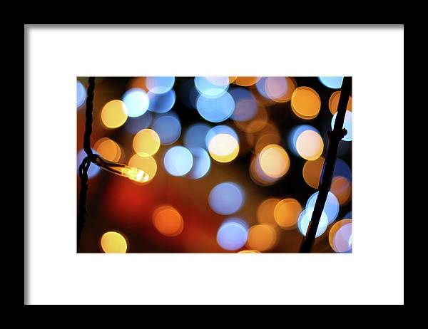 Outdoors Framed Print featuring the photograph Abstract Spotted Color Pattern Dot Of by Hidehiro Kigawa