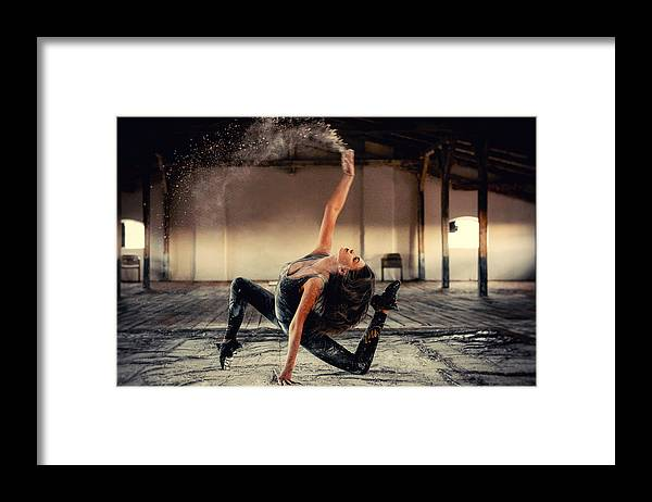 Dancer Framed Print featuring the photograph Adry by Mihai Bogdan R