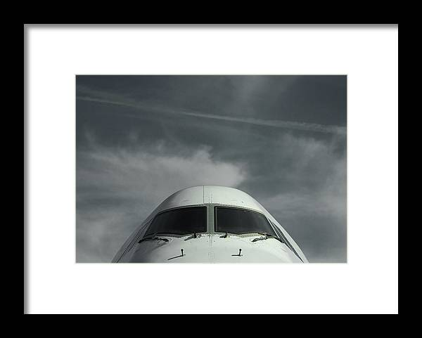 Tranquility Framed Print featuring the photograph Aircraft by Laurent Chantegros